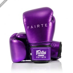 Fairtex BGV22 Metallic Purple Boxing Gloves