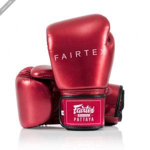Fairtex BGV22 Metallic Red Boxing Gloves