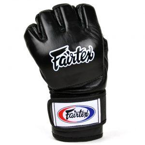 Fairtex FGV12 Black Ultimate MMA Gloves