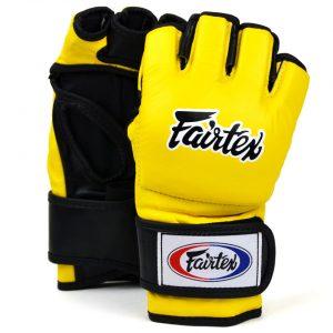 Fairtex FGV12 Yellow Ultimate MMA Gloves