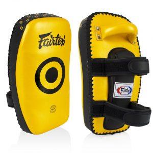 Fairtex KPLC5 Gold Light Weight Thai Kick Pads