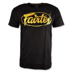Fairtex TST148 Limited Edition T-Shirt Black Gold