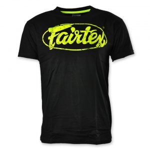 Fairtex TST148 Limited Edition T-Shirt Black Green