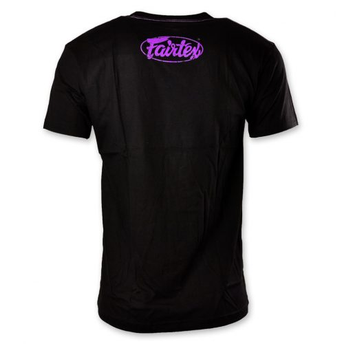 Fairtex TST148 Limited Edition T-Shirt Black Purple