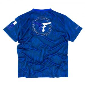 Fairtex TST172 Dri-Fit T-Shirt Blue
