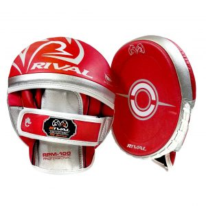 Rival RPM100 Professional Punch Mitts Red