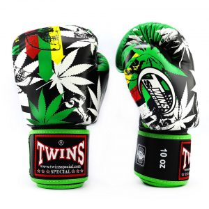 Twins Grass Limited Edition Boxing Gloves FBGVL3-54