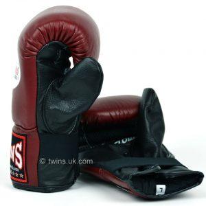 Twins TBGLA1F Air Flow Bag Gloves Maroon Black