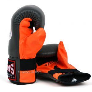 Twins TBGLA1F Air Flow Bag Gloves Grey Orange