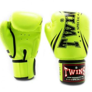 Twins TW6 Boxing Gloves Lime Green