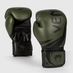 Venum Boxing Gloves Challenger 3.0 Khaki Black