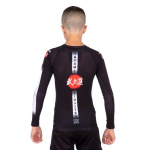 Tatami Kids Bushido Black Long Sleeve Rash Guard