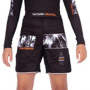 Tatami Kids Tropic Black Grappling Shorts