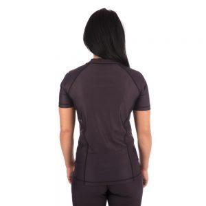 Tatami Ladies Shadow Short Sleeve Rash Guard