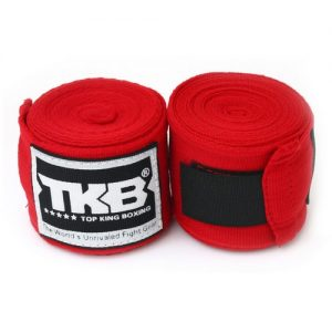 Top King 4M Hand Wraps Red