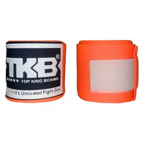 Top King 4M Hand Wraps Orange