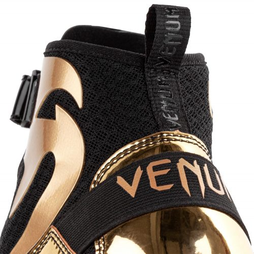 Venum Giant Low Boxing Boots Black Gold