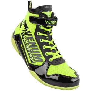 Venum Giant Low VTC 2 Edition Boxing Boots Neo Yellow Black