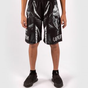 Venum Gladiator 4.0 Kids Training Shorts Black White