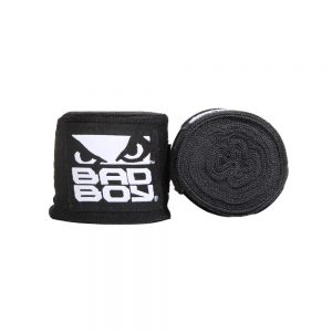 Bad Boy Combat Hand Wraps 3.5m Stretch Black