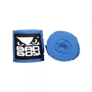 Bad Boy Combat Hand Wraps 3.5m Stretch Blue
