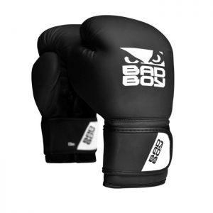 Bad Boy Active Boxing Gloves Black White