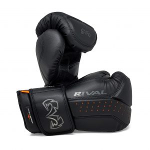 Rival Boxing RB10 Intelli Shock Bag Gloves Black