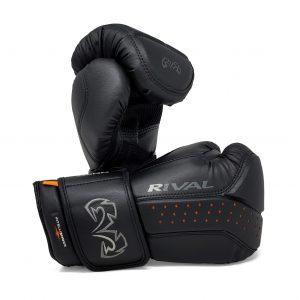 Rival Boxing RB10 Intelli Shock Bag Gloves Black