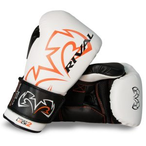 Rival RS11V Evolution Sparring Gloves Velcro White