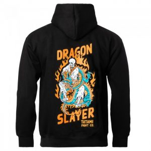 Tatami Dragon Slayer Hoodie Black