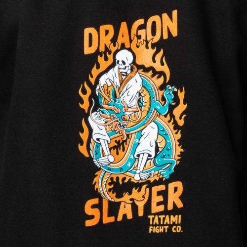 Tatami Dragon Slayer Hoodie Black