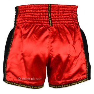 Twins Muay Thai Shorts TWS-911 Red Retro