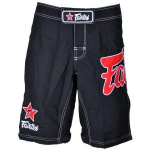 Fairtex AB1 MMA Board Shorts Black