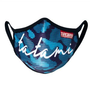 Tatami Signature Blue Face Mask