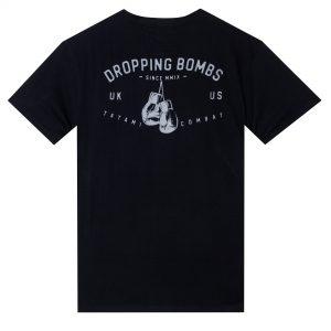 Tatami Dropping Bombs Organic T-Shirt Black