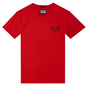 Tatami Dropping Bombs Organic T-Shirt Red