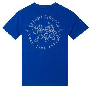 Tatami Panthera Organic T-Shirt Blue