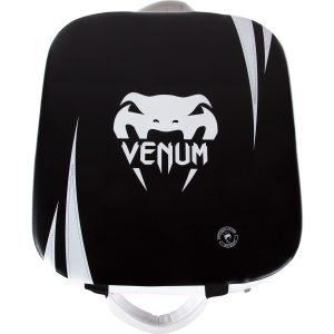 Venum Absolute Square Kick Shield Skintex Leather Black Ice