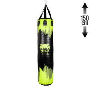 Venum Hurricane Punching Bag Black Neo Yellow 150cm
