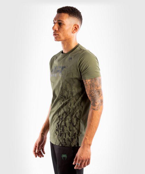 Venum UFC Authentic Fight Week Short Sleeve T-shirt Khaki