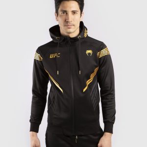 Venum UFC Pro Line Men's Walkout Hoodie Black Gold
