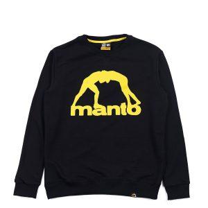 Manto Crewneck Vibe 21 Black Yellow