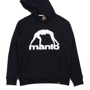 Manto Hoodie Vibe 21 Black White