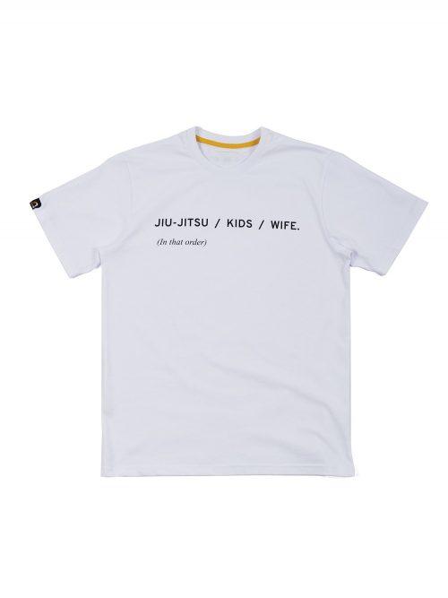 Manto T-Shirt Priorities White