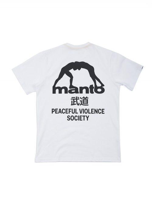 Manto T-Shirt Society White