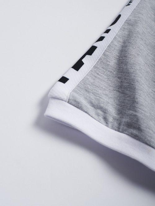 Manto T-Shirt Stripe 21 Heather Grey