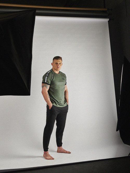 Manto T-Shirt Stripe 21 Olive