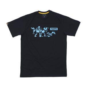 Manto T-Shirt Torn Icon Black