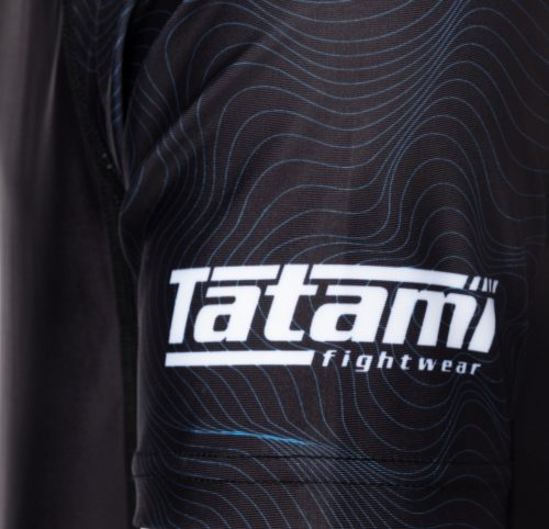 Tatami Elite Grappling Rash Guard Black Blue