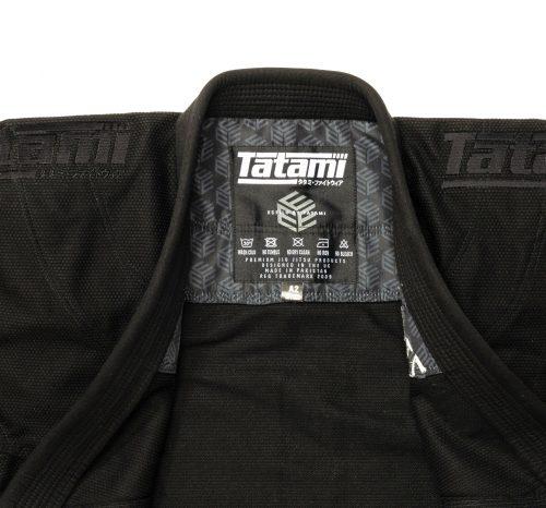Tatami Estilo Black Label BJJ Gi Black Black